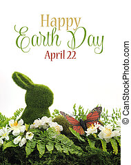 Happy Earth Day, April 22, scene