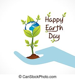 happy earth day design