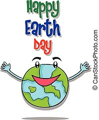 Happy Earth Day design style