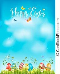 Happy Easter backdrop