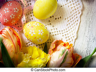 Easter background - Happy Easter background