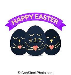 Happy Easter banner design