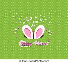 happy easter bunny ears