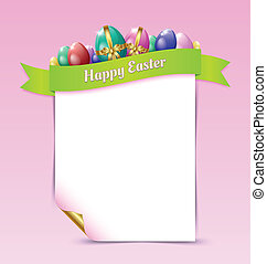 Happy Easter document template