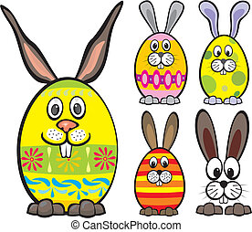 happy Easter - easter eggs