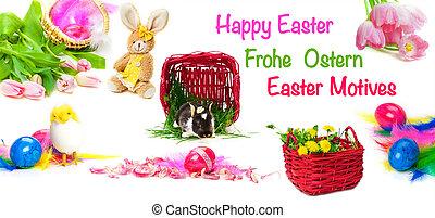 Happy Easter, Easter motives