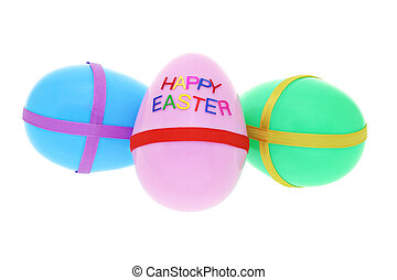 """Happy Easter"" eggs - Easter eggs with ""HAPPY EASTER""..."