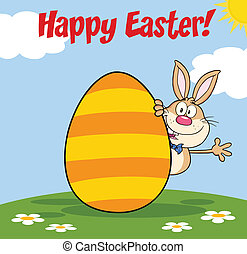 Happy Easter From Rabbit