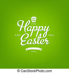 Happy Easter Green Card