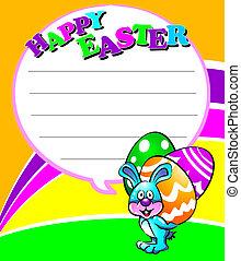 Happy Easter Little Rabbit