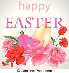 Happy Easter postal