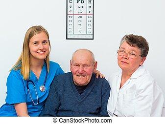 Happy Elderly Person