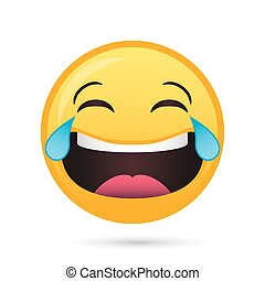 happy emoji face funny character