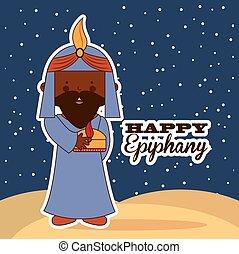happy epiphany design, vector illustration eps10 graphic