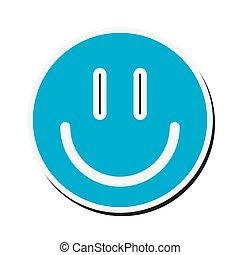happy face cartoon design
