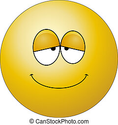 Happy Face character