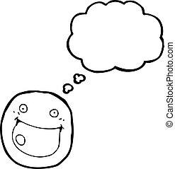 happy face symbol cartoon