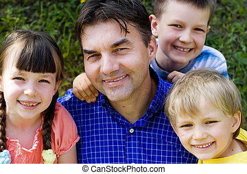 children with uncle