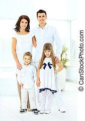 happy family consisting
