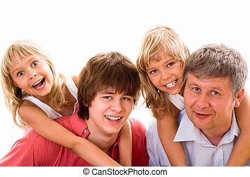 happy family four