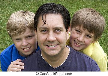 Happy Family - Happy Smiling Family