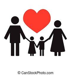 Happy family love