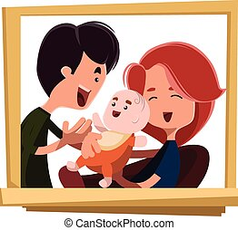 family portrait illustrations and clipart 12 435 family portrait rh canstockphoto com photo clipart of the wise men photo clip art apps
