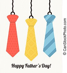Happy fathers day card design. - Happy fathers day card...