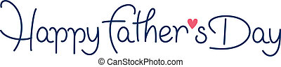 happy fathers day hand lettering handmade calligraphy