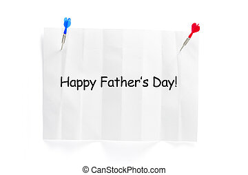Happy Father\'s Day Note