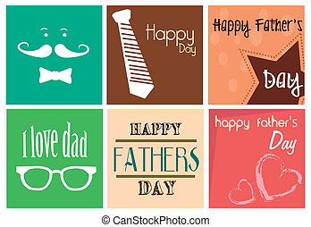happy fathers day print over white background vector ...