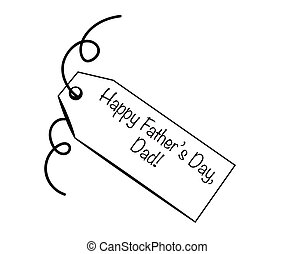 Happy Father's Day Tag