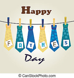 happy fathers day ties - ties fathers day over white...