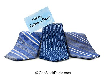 Happy Fathers Day ties