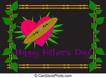 Happy Father%u2019s Day Framed Greeting