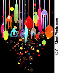 Happy Feast! - Beautiful vector illustration with multi-...