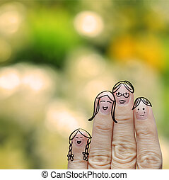 happy finger family