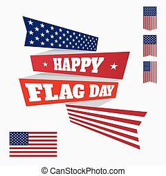 Happy Flag Day badge