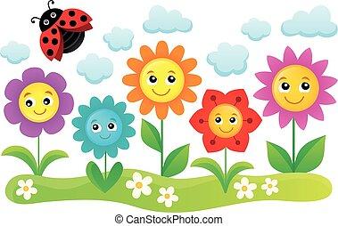 Happy flowers topic image 1