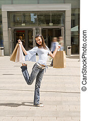 happy for shopping