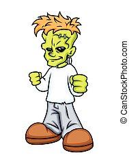 Happy Frankenstein Character