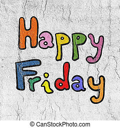 happy Friday message
