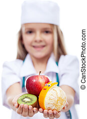 Happy fruits for a healthy life