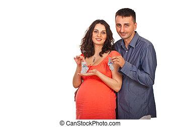 Happy future parents