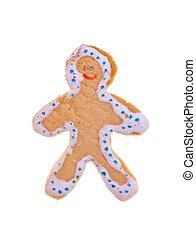 Happy Gingerbread man