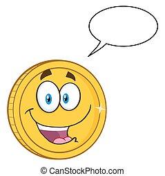 Happy Golden Coin