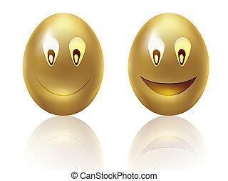 Happy golden eggs
