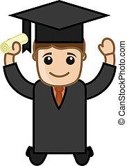 Happy Graduate Boy