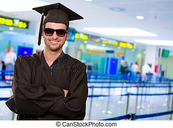 Happy Graduate Man