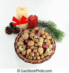 Happy Greating Seasons - Symbols of Christmas and New Year....